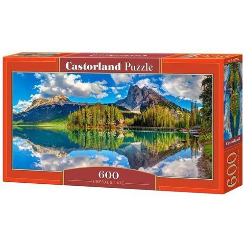 Castor Puzzle 600 el. panoramiczne:emerald lake (5904438060092)