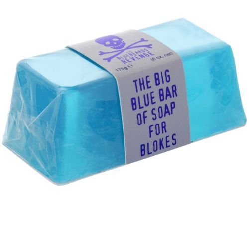 Bluebeards Zestaw 3 kąpielowych mydeł glicerynowych: klasyczne, Ice, Cuban blend 3x175g ()