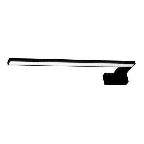 Milagro Kinkiet lampa ścienna shine ml4380 metalowa oprawa listwa nad lustro led 11w do łazienki ip44 czarna (5902693743804)
