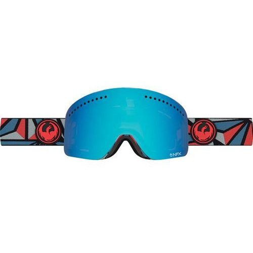 Dragon Gogle snowboardowe  - nfx - structure/blue steel + yellow red ion (945)