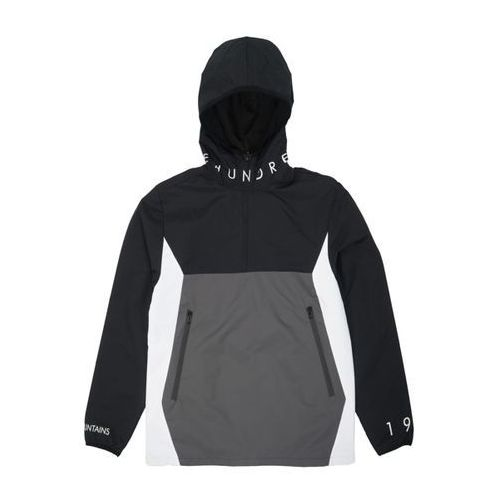Kurtka The Hundreds - Anchor Anorak Black - Biało-Czarny (0999999787088)