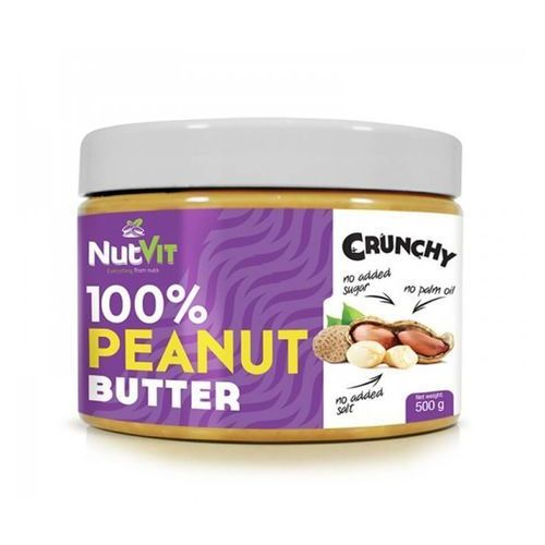nutvit 100% peanut butter 500 g crunchy marki Ostrovit