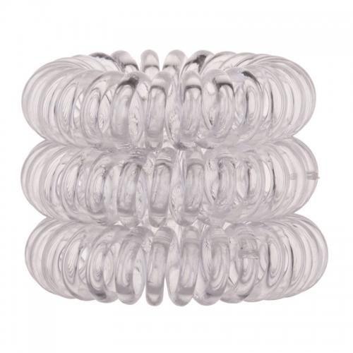przezroczyste gumki do włosów, opakowanie 3 sztuki marki Invisibobble