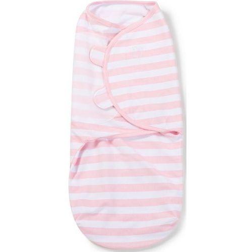 Swaddleme Otulacz  - rozmiar s - biało-różowe paski - etap 2 (0012914558768)