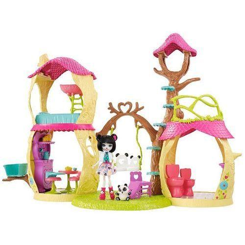 Figurki fisher price zestaw leśny domek enchantimals + darmowy transport! marki Mattel