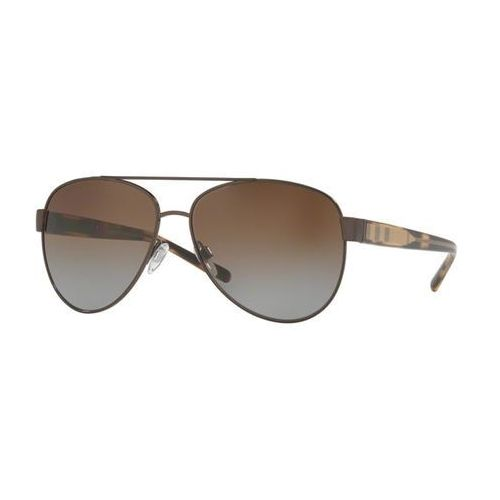 Okulary Słoneczne Burberry BE3084 Check Polarized 1226T5