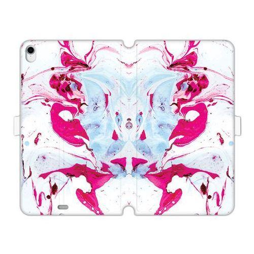 Apple iPad Pro 11 - etui na tablet Wallet Book Fantastic - różowy marmur