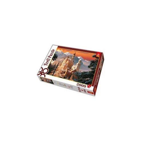 Trefl Puzzle 3000 zimowy zamek neuschwanstein, niemcy