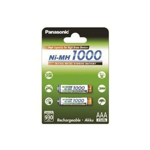 Panasonic akumulatory ni-mh 930 mah 2xaaa high capacity