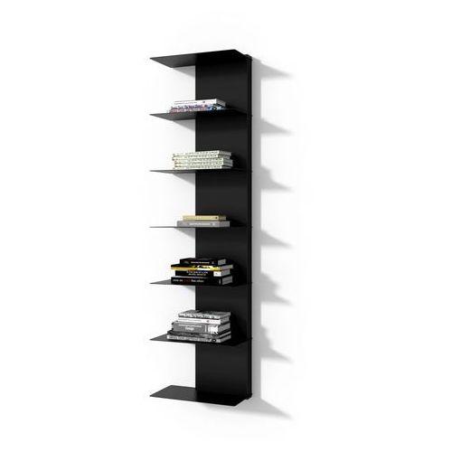 Biblioteczka libra 2 czarna marki D2.design