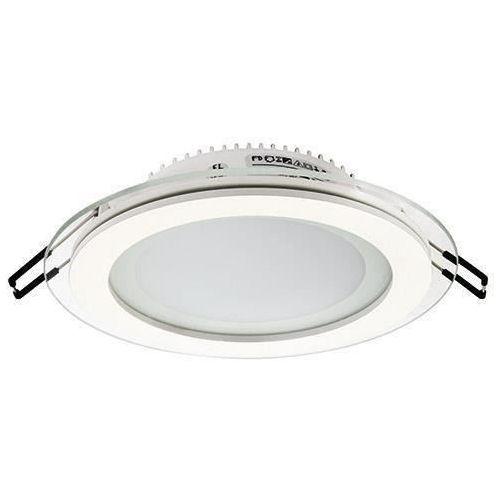 Oczko LAMPA sufitowa HL688LG 02571 Ideus podtynkowa OPRAWA LED 12W okrągły WPUST biały, 02571