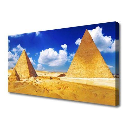 Tulup.pl Obraz na płótnie pustynia piramidy krajobraz