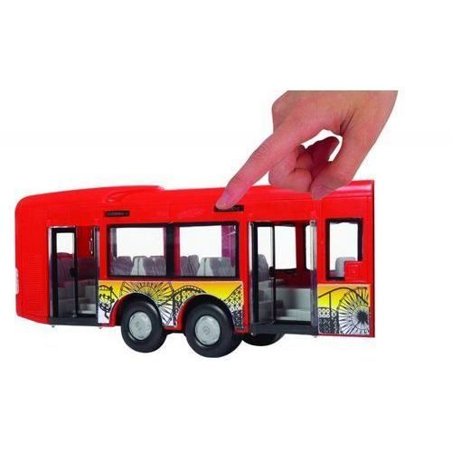 Dickie Autobus City Express 46 cm czerwony, 5_554770