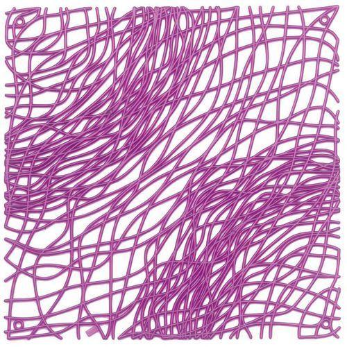 Panel dekoracyjny silk - fioletowy - fioletowy marki Koziol