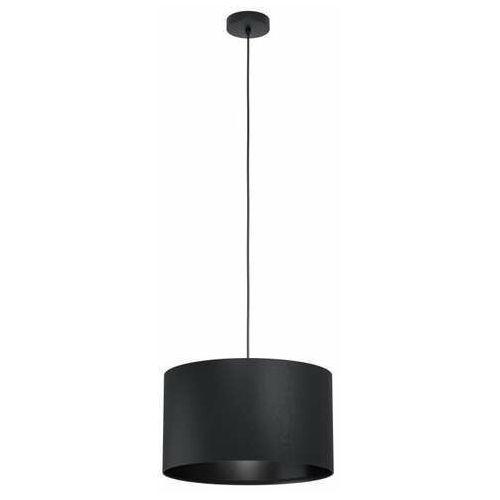 Eglo maserlo 1 99042 lampa wisząca zwis 1x40w e27 czarna (9002759990428)