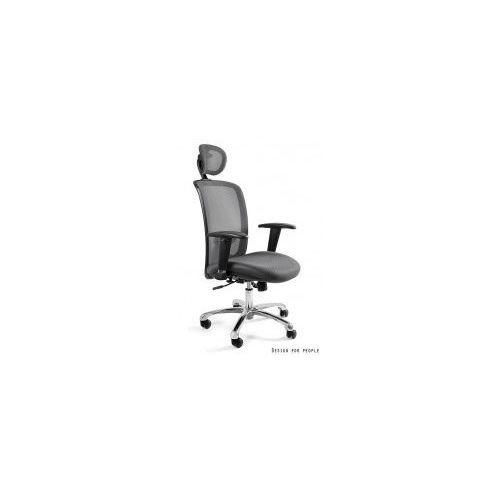 Krzesło biurowe Expander szare, W-94-8