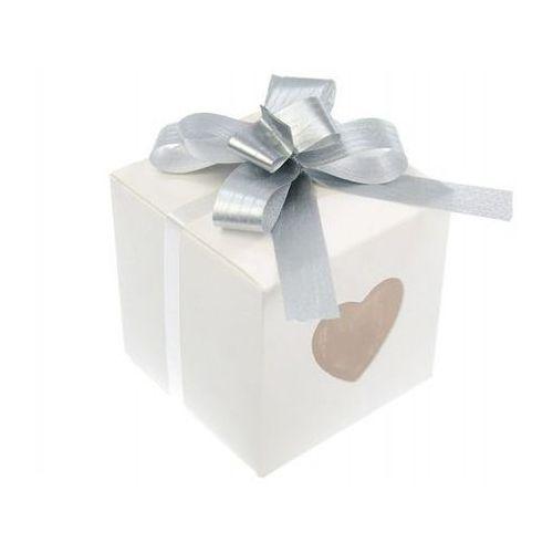 Wstążki ściągane na ślub - srebrna 1 cm 50 szt. marki Ap