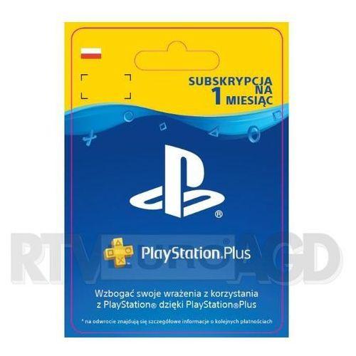 Sony subskrypcja playstation plus 1 m-ce [kod aktywacyjny] (0000006201251)