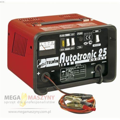 TELWIN Prostownik do ładowania akumulatorów Autotronic 25, towar z kategorii: Prostowniki spawalnicze