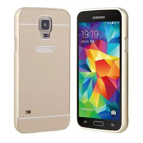 Obudowa Bumper Case Zolti Samsung Galaxy S5 Złota - Złoty