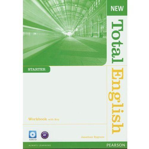New Total English Starter Workbook With Key Z Płytą Cd (opr. miękka)