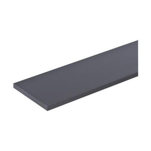 Floorpol Półka meblowa grafitowa 60 x 30 cm (5907508717247)