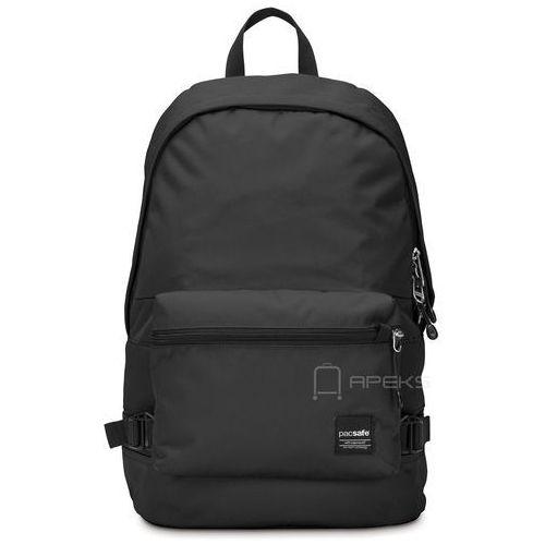 "slingsafe lx400 plecak miejski na laptop 15"" rfid / black - black marki Pacsafe"