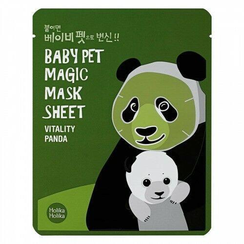 baby pet magic mask sheet, panda (22 ml) marki Holika holika
