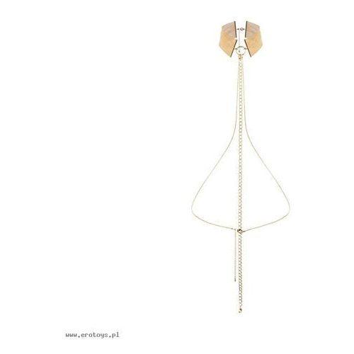 Biżuteria obroża - Bijoux Indiscrets Magnifique Collar Gold (8437008003726)
