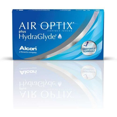 Air Optix Plus HydraGlyde - 3 sztuki w blistrach