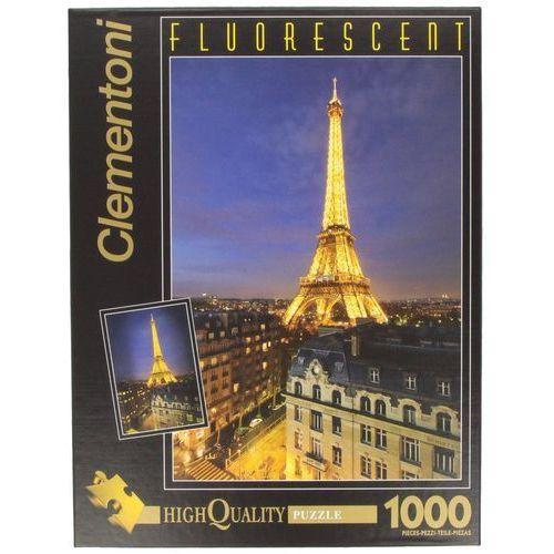 Puzzle CLEMENTONI Fluo Paris (1000 elementów)