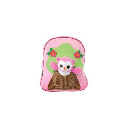 Mały plecak dziecięcy z pluszakiem pink (3850385004516)