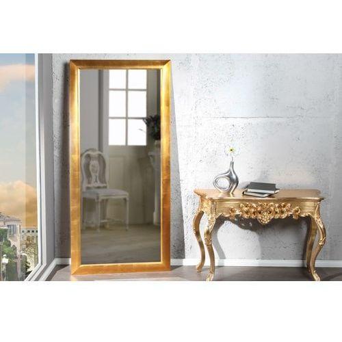 Lustro wiszące espejo 180cm złote marki King home