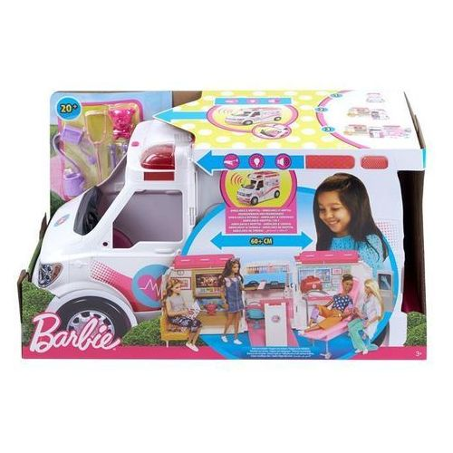 Barbie Karetka Mobilna klinika FRM19