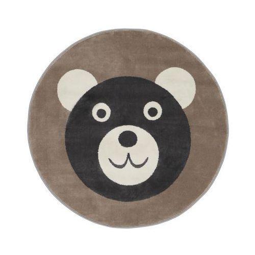Dywan dziecięcy Fiki beżowy okrągły śr. 100 cm (5901760185134)