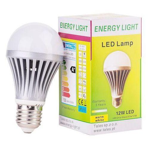 Inni producenci Żarówka 12w energy light e27 bańka ciepła z aluminiowym radiatorem, kategoria: żarówki led