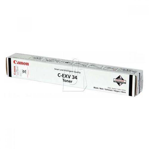 Canon oryginalny toner cexv34, black, 23000s, 3782b002, canon ir-c2020, 2030