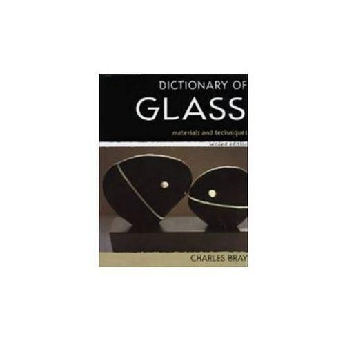 Dictionary of Glass, oprawa twarda