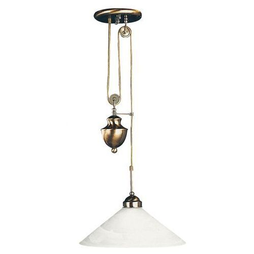 Lampa wisząca zwis oprawa Rabalux Marian 1X100W E27 brązowa 2706, kolor Brązowy