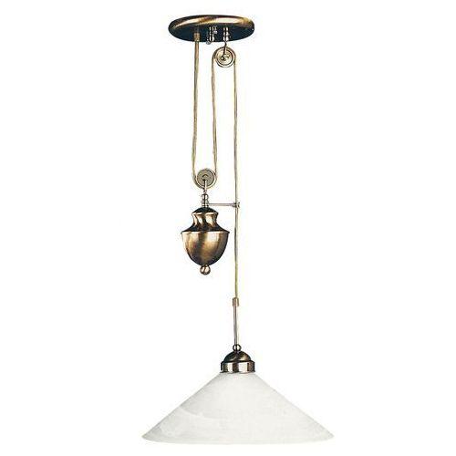 Lampa wisząca zwis oprawa Rabalux Marian 1X100W E27 brązowa 2706
