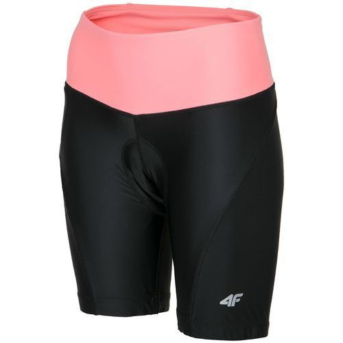 4f Damskie spodnie rowerowe wkładka l18 rsd001 czarny s