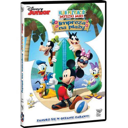 Klub Przyjaciół Myszki Miki. Impreza na plaży (DVD) - Galapagos (7321916504516)