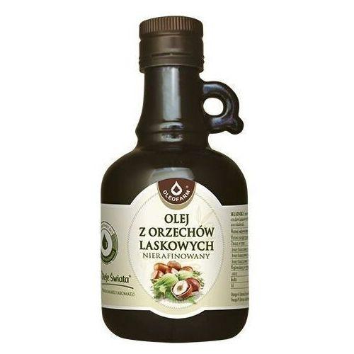 Olej z orzechów laskowych nierafinowany 250ml marki Oleofarm