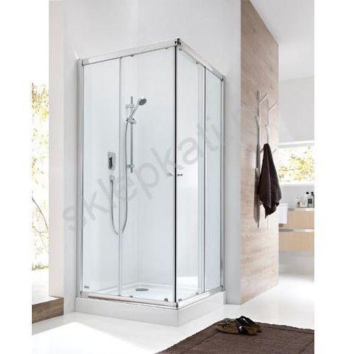 OKAZJA - Roca Roca city new square kabina 90x90x185 cm, profile aluminiowe chrom, szkło transparentne amp0209012 90 x 90 (AMP0209012)