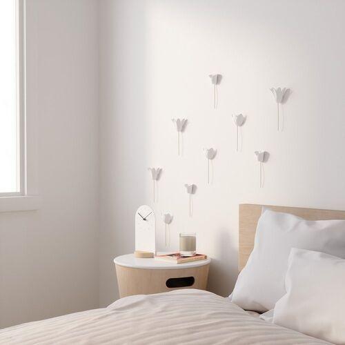 - dekoracja ścienna bloomer, biała marki Umbra