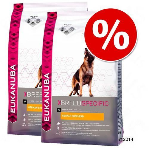Eukanuba Breed Specific Rottweiler Adult 2x12kg (8710255121956)