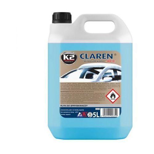 Płyn do spryskiwaczy claren zimowy -40°c 5 litrów marki K2