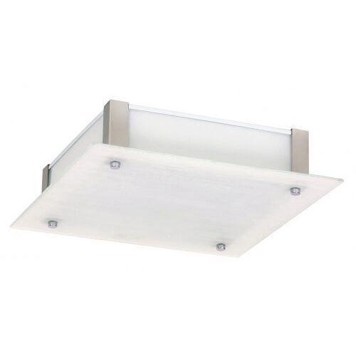 Rabalux Plafon dustin 3035 lampa sufitowa 1x12w led biały / chrom (5998250330358)