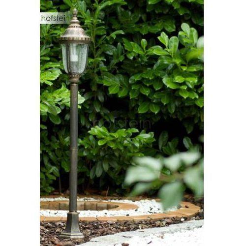 Orion patina zewnętrzna lampa stojąca mosiądz, złoty, przezroczysty - - - patina - czas dostawy: od 2-3 tygodni (9003090213344)