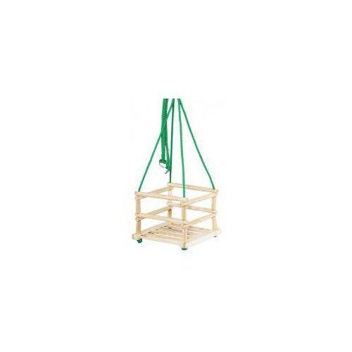 Tupiko Huśtawka drewniana dla dzieci naturalna